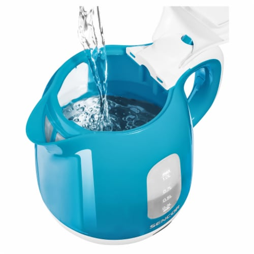 Sencor Small Electric Kettle - Turquoise Perspective: bottom