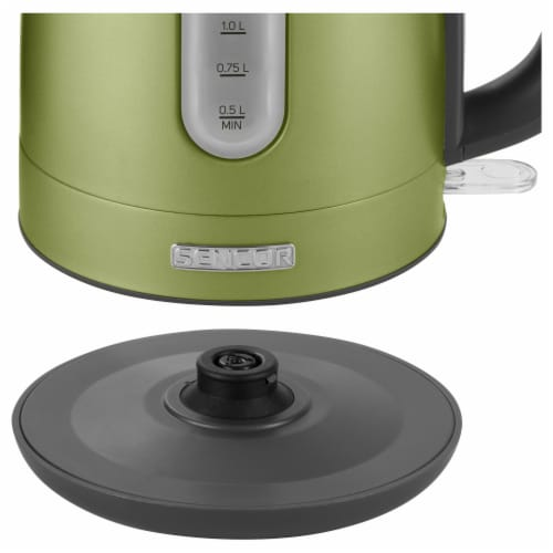 Sencor Stainless Electric Kettle - Light Green Perspective: bottom