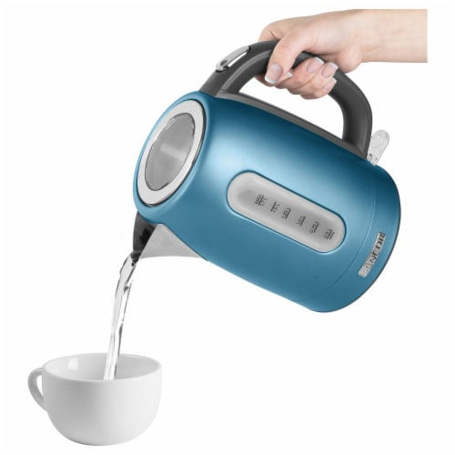 Sencor Stainless Electric Kettle - Blue Perspective: bottom