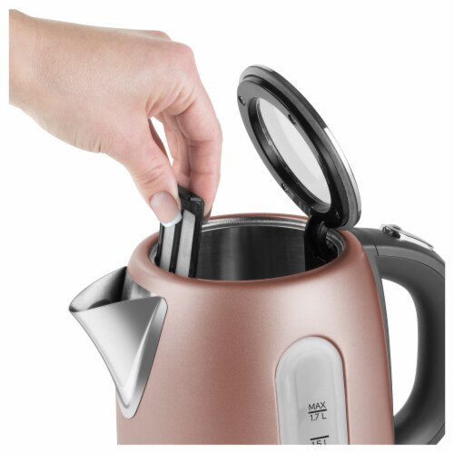 Sencor Stainless Electric Kettle - Pink Perspective: bottom