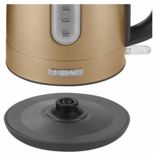 Sencor Stainless Electric Kettle - Champagne Perspective: bottom
