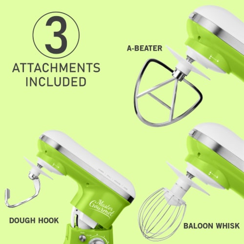 Sencor Stand Mixer with Pouring Shield - Green Perspective: bottom