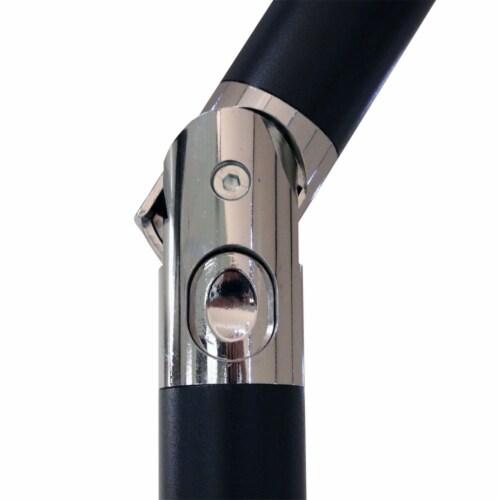 Sunnydaze Outdoor Patio Market Umbrella w/ Tilt & Crank - Aluminum - 7.5' - Blue Perspective: bottom