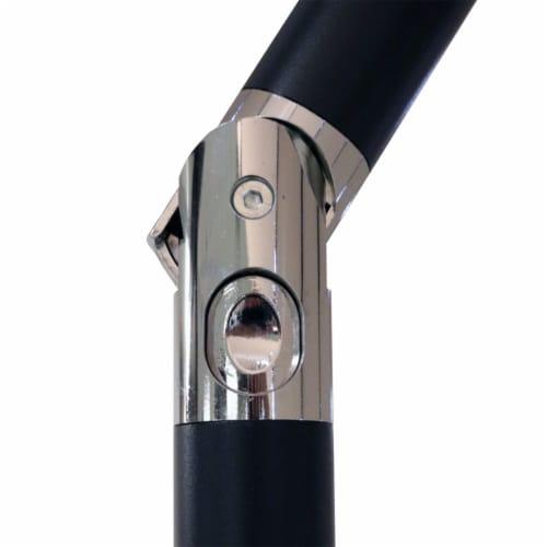 Sunnydaze Patio Market Umbrella w/ Tilt & Crank - Aluminum - 7.5' - Burnt Orange Perspective: bottom