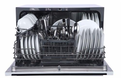 Farberware Professional Countertop Dishwasher - White Perspective: bottom