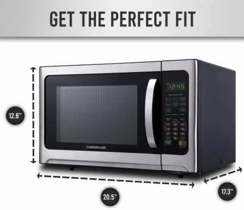 Farberware Professional Microwave Oven Perspective: bottom