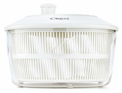 Ozeri Italian Made Fresca Salad Spinner and Serving Bowl, BPA-Free Perspective: bottom