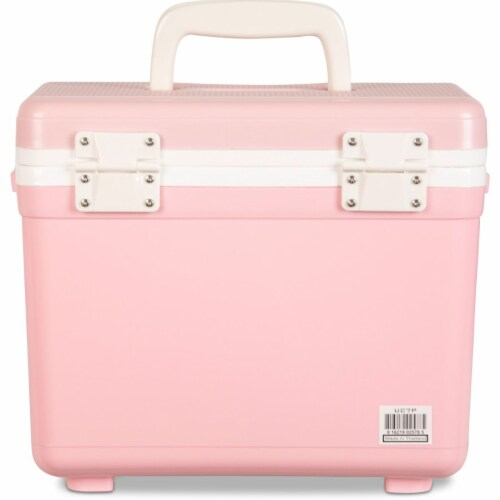 Engel 7.5-Quart EVA Gasket Seal Ice and DryBox Cooler with Carry Handles, Pink Perspective: bottom