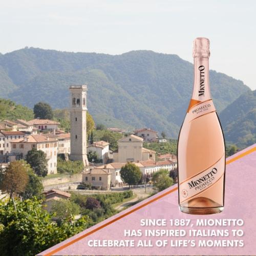 Mionetto Prosecco Rose Wine Perspective: bottom