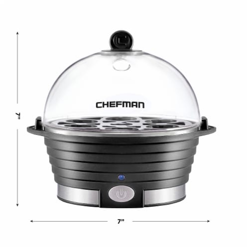 Chefman Electric Egg Cooker Boiler - Black Perspective: bottom