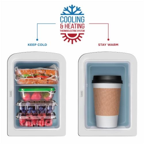 Chefman Mini Portable Eraser Board Personal Fridge - Black Perspective: bottom