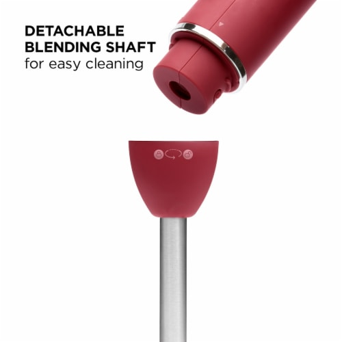 Chefman Immersion Stick Hand Blender - Red Perspective: bottom