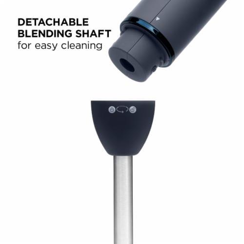 ChefmanImmersion Stick Hand Blender - Midnight/Silver Perspective: bottom
