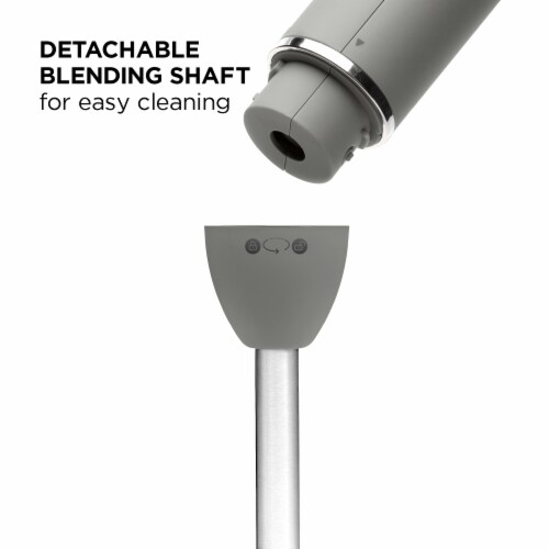 Chefman Immersion Stick Hand Blender - Gray Perspective: bottom