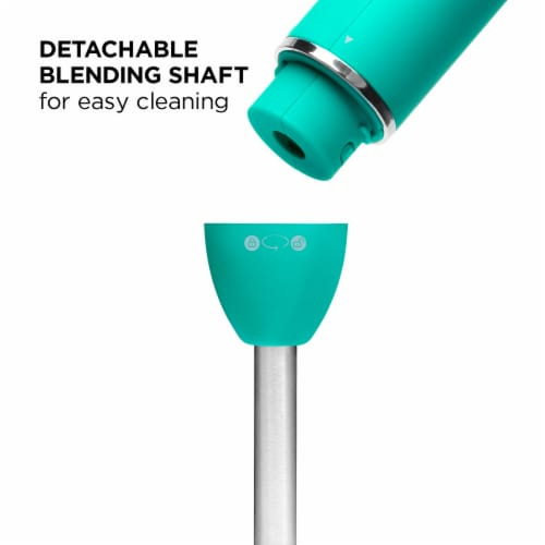 Chefman Immersion Stick Hand Blender - Turquoise Perspective: bottom