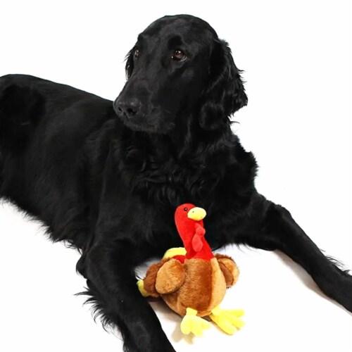 Midlee Thanksgiving Turkey Dog Toy Perspective: bottom