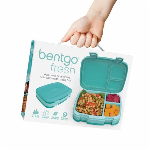 Bentgo Fresh Bento Box - Turquoise Perspective: bottom