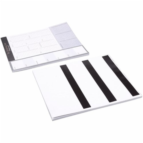 Large Magnetic Grocery, Shopping List Notepads for Fridge (156 Sheets, 3-Pack) Perspective: bottom