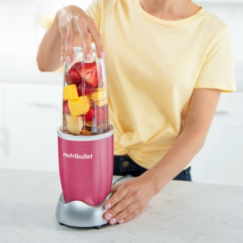 NutriBullet PRO Nutrient Extractor - Pink Perspective: bottom