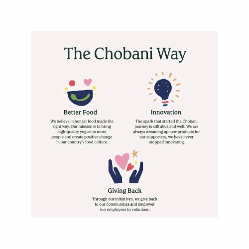 Chobani® Peach on the Bottom Non-Fat Greek Yogurt Perspective: bottom
