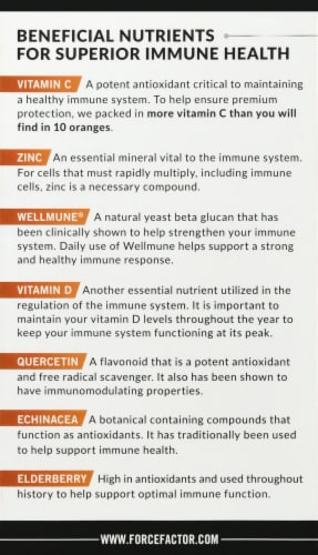 Force Factor Immunity Supplements Perspective: bottom