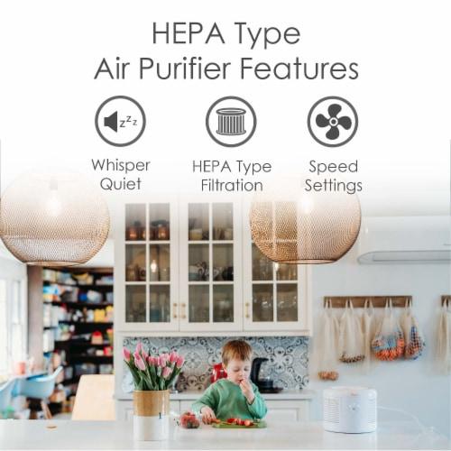 Crane HEPA Air Purifier Perspective: bottom