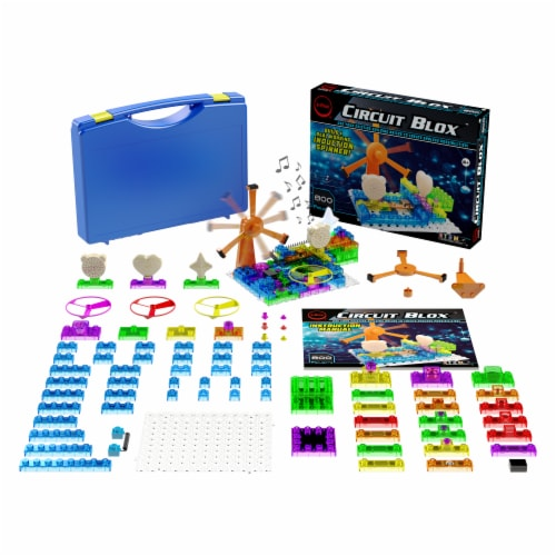 E-Blox Circuit Blox Induction Spinner Building Toy Perspective: bottom