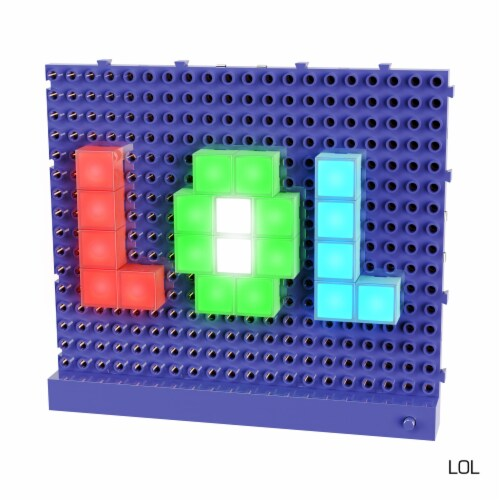 E-Blox Lite Blox LED Building Block Set Perspective: bottom
