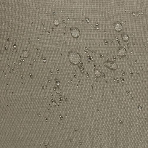 "Sunnydaze Firewood Log Hoop Holder with Khaki Cover Outdoor Black Steel - 40"" Perspective: bottom"
