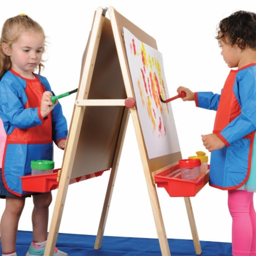 Kaplan Early Learning Toddler Adjustable Easel Perspective: bottom
