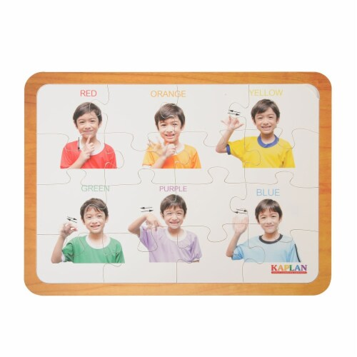 Kaplan Early Learning Friends Like Me Differing Abilities Puzzle Set  - Set of 4 Perspective: bottom