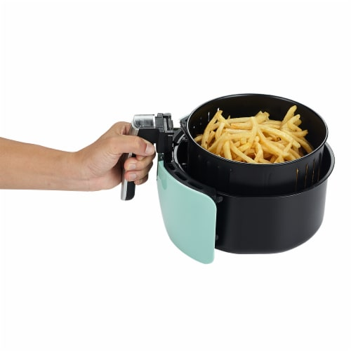 GoWISE USA GW22661 2.75-Quart Digital 50 Recipes for your Air Fryer Book, Mint Perspective: bottom