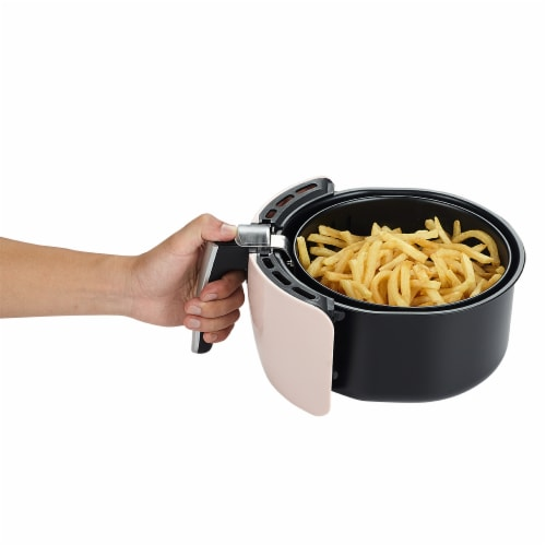 GoWISE USA 2.75-Quart Digital 50 Recipes for your Air Fryer Book, QT, Blush Perspective: bottom