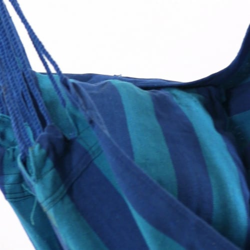 Sunnydaze Indoor-Outdoor Hanging Hammock Swing and 2 Cushions - Oasis - Set of 2 Perspective: bottom