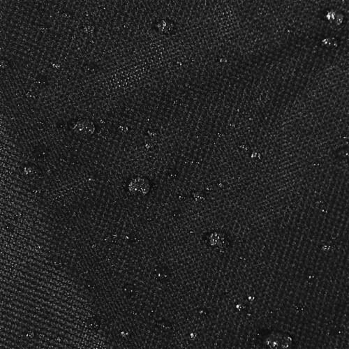 Sunnydaze Log Rack Cover Heavy-Duty Waterproof Weather-Resistant PVC - 2' Perspective: bottom