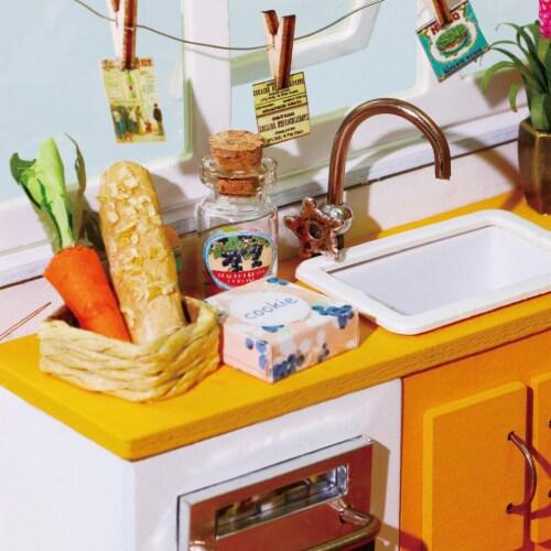 Hands Craft DIY 3D Wooden Puzzles - Miniature House: Jason's Kitchen Perspective: bottom