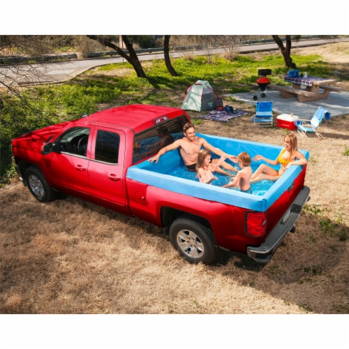 Bestway 54283E Portable Standard 5.5 Foot Payload Pickup Truck Bed Swimming Pool Perspective: bottom