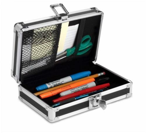 Ideastream Vaultz Lock Pencil Box - Assorted Perspective: bottom