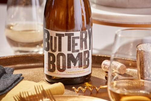 Buttery Bomb Chardonnay White Wine Perspective: bottom