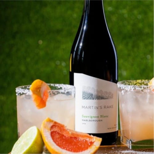 Martin's Rake Sauvignon Blanc White Wine Perspective: bottom