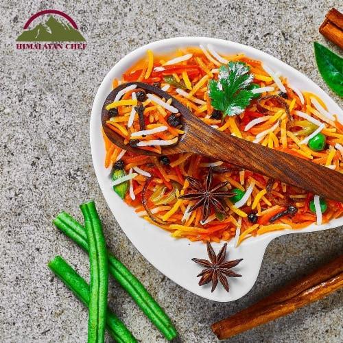 Himalayan Chef Basmati Rice, Fluffy & Long-Grain, Standup & Resealable Bag | 2 lbs - Pack 2 Perspective: bottom