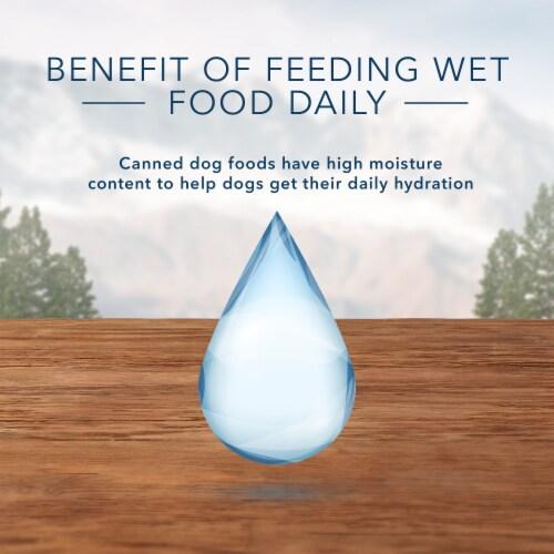 Blue Wilderness Chicken Grill Trail Trays Wet Dog Food Perspective: bottom