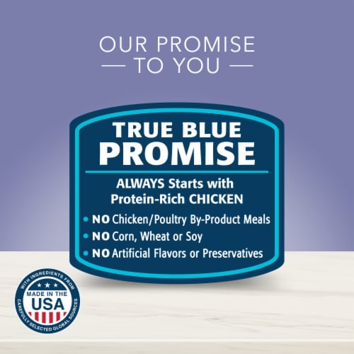 Blue Buffalo True Solutions Jolly Joints Natural Chicken Flavored Wet Dog Food Perspective: bottom