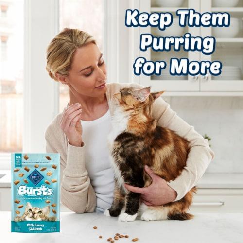 Blue Buffalo Bursts Seafood Cat Treats Perspective: bottom