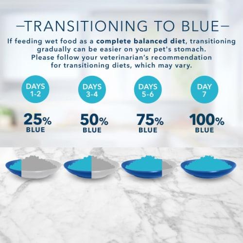 Blue Buffalo Tastefuls Flaked Chicken Entree in Gravy Wet Cat Food Perspective: bottom
