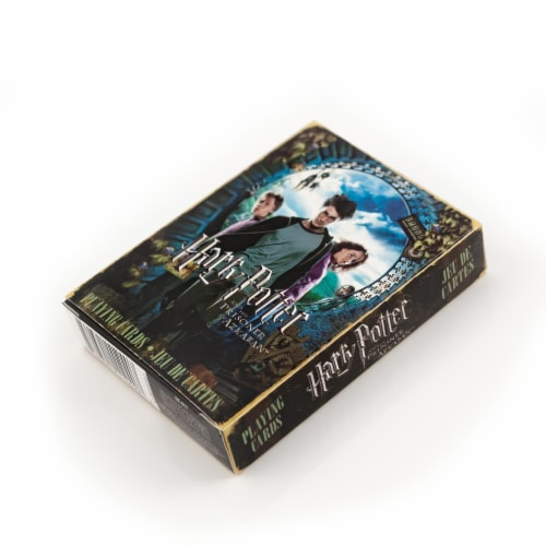 Harry Potter And The Prisoner Of Azkaban Playing Cards | Standard 52 Card Set Perspective: bottom