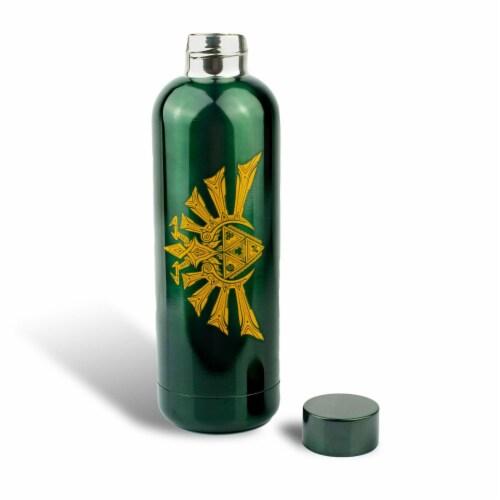 Legend of Zelda Hyrule Stainless Steel Water Bottle Perspective: bottom