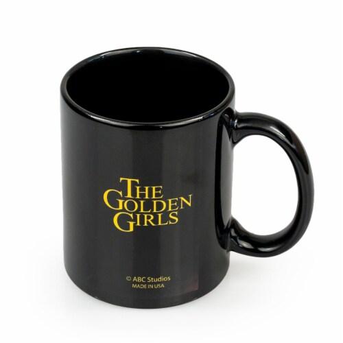 The Golden Girls Stay Golden San Diego Ceramic Mug | 11 Ounces| Golden Girls Mug Perspective: bottom