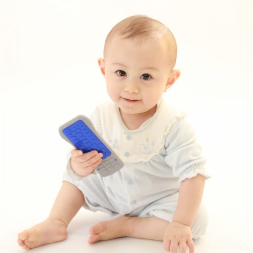 Toys by People® Brain Builders™ - Baby's First Remote Teether Perspective: bottom