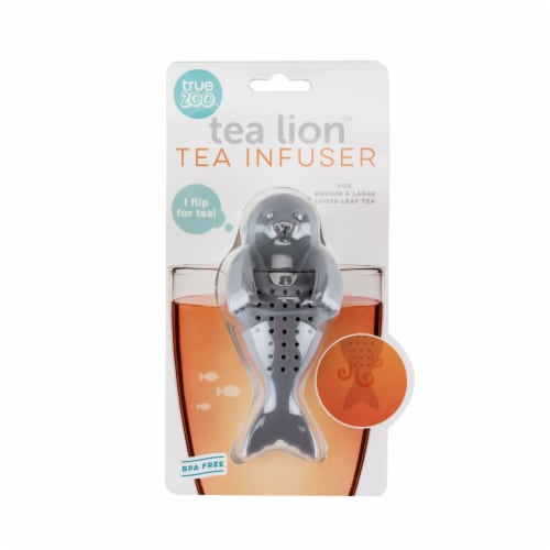 Tea Lion Silicone Tea Infuser by TrueZoo Perspective: bottom